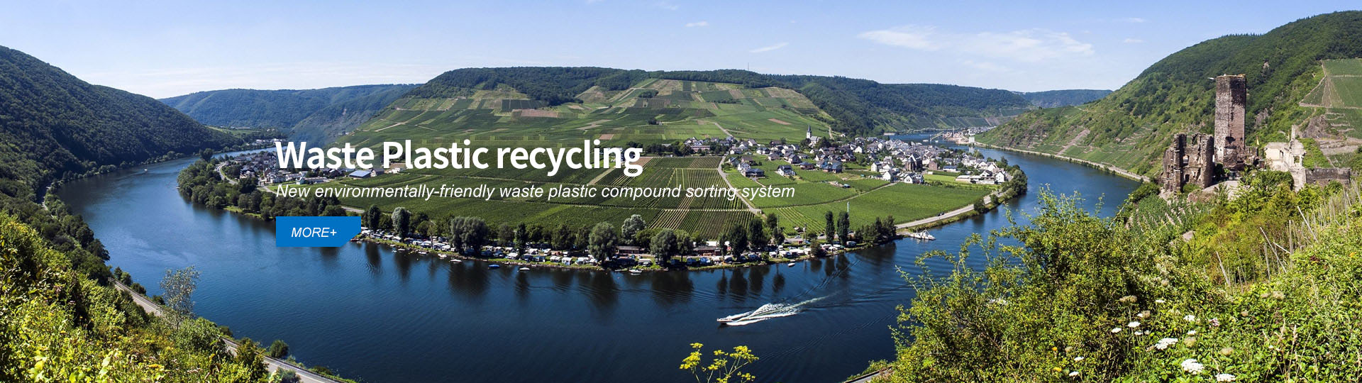 Recycling waste plastics - New environmentally friendly waste plastics compounding system